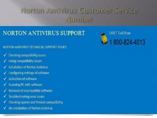 Toll Free 1-800-824-4013 Norton Antivirus Customer Service N