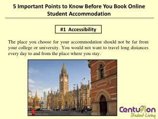 5 important points to know before you book online student ac