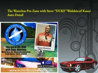 Waterless Pro with Steve Wolshin