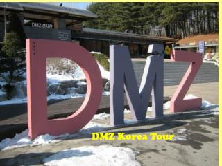 DMZ Korea Tour