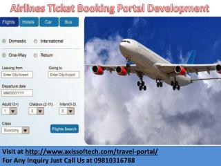 Airlines-Ticket-Booking-Portal-Development