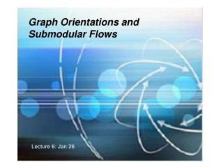 Graph Orientations and  Submodular Flows