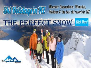 Luxury Family Ski Holiday with Perfect Snow