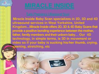 3d 4d Ultrasound During Pregnancy | Sexing Scan UK