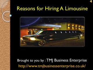 Cheap And Best Limousine Hire In London