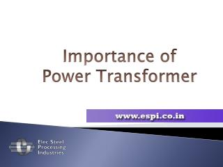 What is Power Transformer | Introduction