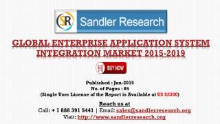 Global Enterprise Application System Integration Market Grow
