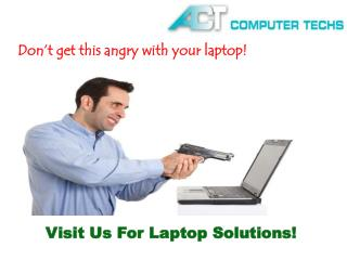 Affordable Computer / Laptop Repair Service in Barrie