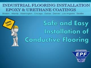 Safe and Easy Installation of Conductive Flooring