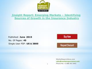 Emerging Markets Trends of High-Growth Insurance & Research