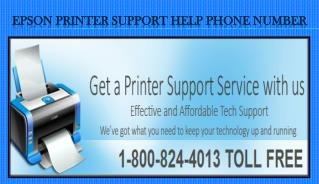 Epson printer Support Help Phone Number 1-800-824-4013