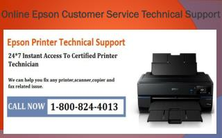 Online Epson Customer Service Technical Support 1-800-824-40