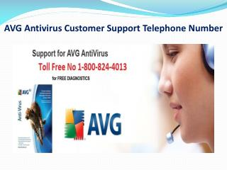AVG Antivirus Customer Support Telephone Number (1-800-824-4
