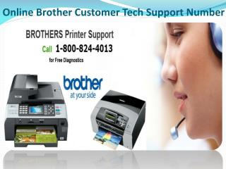 1-800-824-4013 Brother Printer Customer Service Number