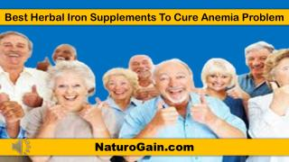 Best Herbal Iron Supplements To Cure Anemia Problem