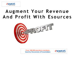 Augment Your Revenue And Profit With Esources
