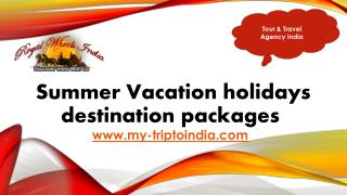 Best Travel Agency in India