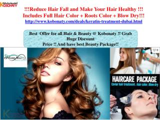 Keratin Treatment @ Huge Discount Rate