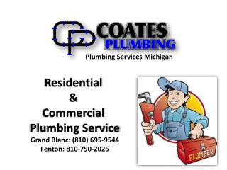 Coates Plumbing ► Michigan Plumbers for Home and Commercial