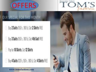 Get the special offers at Toms Fashion