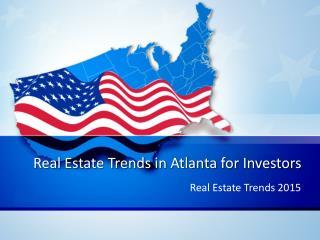 Real Estate Trends for Investors