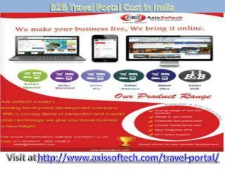 Cost-B2B-Travel-Portal