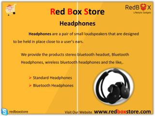 Shop Online for Headphones|RedBoxStore