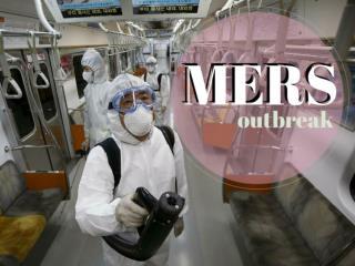 MERS outbreak