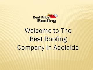 Roofing in Adelaide