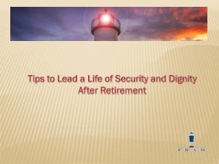 Retirement Planning Tips.