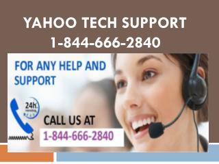 1-844-666-2840 Yahoo Mail Forgot Password