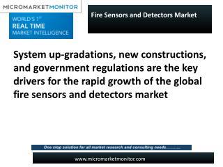 Fire Sensors and Detectors Market