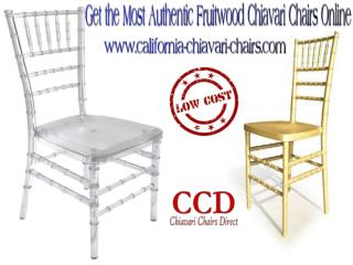 The Most Authentic Fruitwood Chiavari Chairs Online