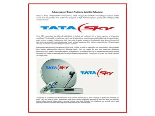 Buy Tata Sky HD Online at Competitive Prices with Great Pack