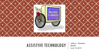 ED505 Assistive Technology