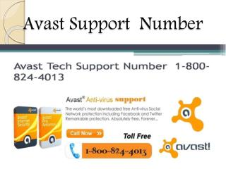 avast support number 1-800824-4013