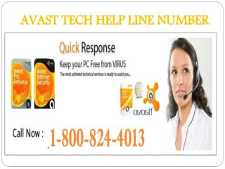 avast tech help line number 1-800-824-4013 USA CANADA Toll F