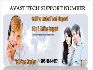 avast tech support number 1-800-824-4013 USA CANADA Toll Fre