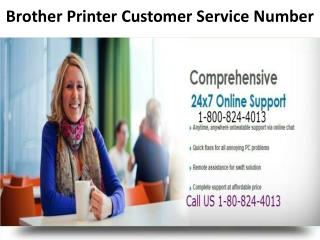1-800-824-4013 Brother Printer Technical Support Number