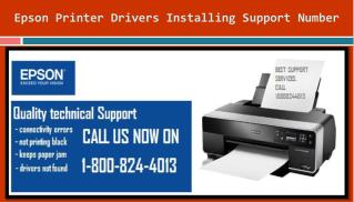 [1-800-824-4013] Epson Printer Drivers Installing Support Nu