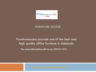 Best Office Furniture in Adelaide