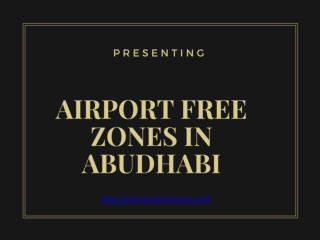 Company Set Up in Abu Dhabi Airport Free Zone