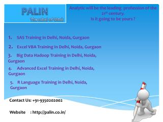 R Language Training in Delhi, Noida, Gurgaon