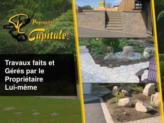 Aménagement paysager Québec – Paysagiste de la Capitale