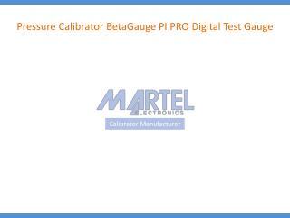 Pressure Calibrator BetaGauge PI PRO Digital Test Gauge