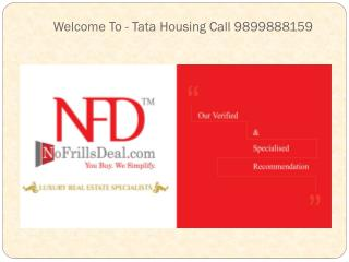 Tata Housing Primanti Gurgaon Villas @ 9899888159