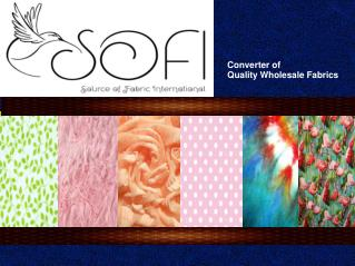 Suppliers of Cotton, Silk Fabric in Los Angeles