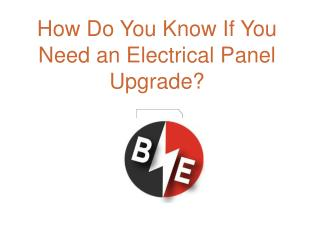 How Do You Know If You Need an Electrical Panel Upgrade?