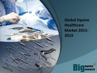 2015-2019 Global Equine Healthcare Market