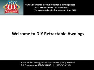 Retractable awning   diy retractable awnings